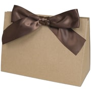 "Deluxe Kraft Paper 5.5""H x 3.5""W x 8""L Gift Boxes, Brown, 100/Pack"