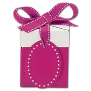 "Pretty in Pink Giftalicious 3"" x 3"" x 3 1/2"" Pop-Up Box, Pink"