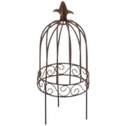 Darice® Timeless Miniatures Wire Garden Birdcage With Pick, Rustic