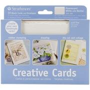 "Pro-Art Strathmore® 5"" x 7"" Cards & Envelopes, Fluorescent White/Deckle"