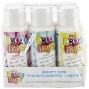 Deco Art® Americana Decou-Page 6-Bottle Variety Pack