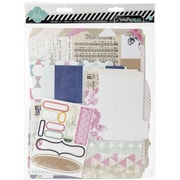 Heidi Swapp Cardstock Memory Files Mixed Media Scrapbook Album Kit
