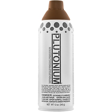 Plutonium™ Ultra Supreme Professional Grade 12 oz. Aerosol Paint, Mud Pie