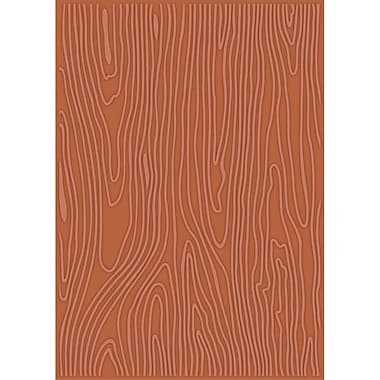Craftwell eBosser Embossing Folders, Woodgrain Cottage