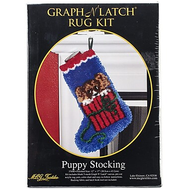 M C G Textiles Latch Hook Kit, 12