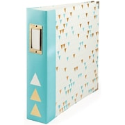 """We R Memory Keepers™ Teresa Collins™ 12"""" x 12"""" Made Easy 3-Ring Album, Triangle"""