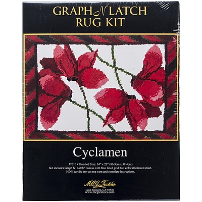 M C G Textiles Latch Hook Kit, 34