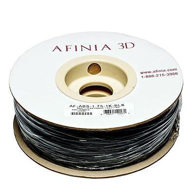 Afinia Value-Line H-Series 1.75mm ABS Plastic 3D Printer Filament, Black