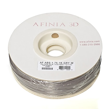 Afinia Value-Line H-Series 1.75mm ABS Plastic 3D Printer Filament, Color-Changing (Gray to White)