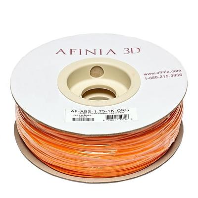 Afinia Value-Line H-Series 1.75mm ABS Plastic 3D Printer Filament, Orange
