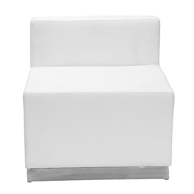 Flash Furniture Alon Series ZB803CHWH LeatherSoft Chair, White