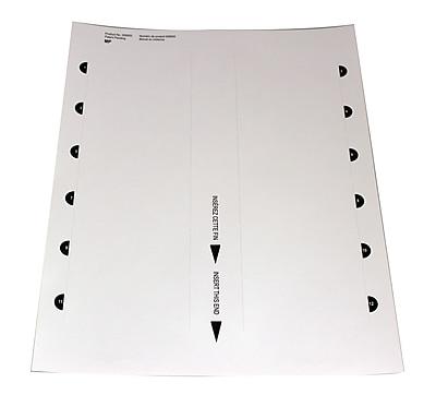 The Mighty Badge 901857 Insert Sheet Refill Kit for Inkjet Printer, Bright White, 60/Pack