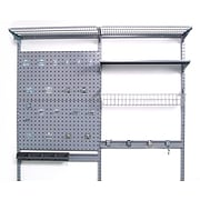 Storability 1740 Double LocBoard System, Gray