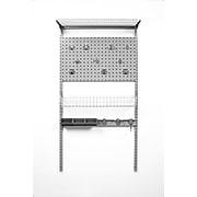Storability 1785 Single LocBoard System, Gray