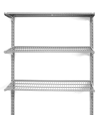 Storability 1795 3 Shelf Wall Mount Unit, Gray