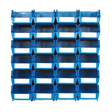 LocBin Wall Storage Medium Bins Blue (3-220BWS)