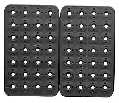 MagClip 72424 2 Panel 56 Magnet Mat No Peg, Black