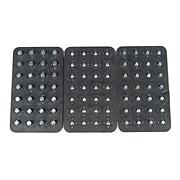 MagClip 72426 3 Panel Power Mat 84 Pegs, Black