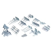 LocHook LH2-KIT 63 piece LocHook Assortment, Silver