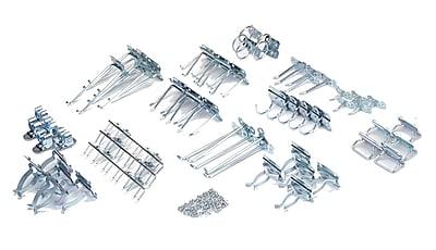 LocHook LH2-KIT 63 piece LocHook Assortment, Silver