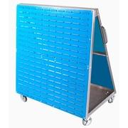 "LocBoard LPC-1 48""L x 51""H LP Tool Cart, Silver"