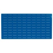 "LocBin LVP-1 24""Hx48""W B Louvered Panel, Blue"