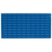 "LocBin LVP-1 24""Hx48""W B Louvered Panel, Blue"