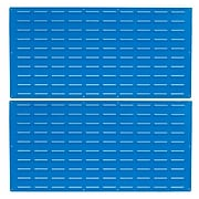 "LocBin LVP-2 24""Hx48""W B Louvered Panel, Blue"