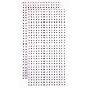 """Tempered Wood Pegboard 24"""" x 48"""", Blissful White (TPB-2W)"""