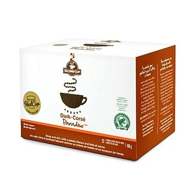 Second Cup – Dosettes à usage unique, torréfaction foncée, paq./12