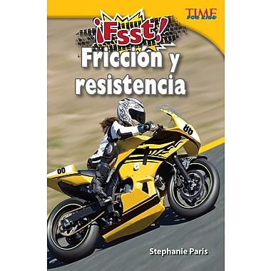 Fsst! Friccion y resistencia (Drag! Friction and Resistance) Spanish Version