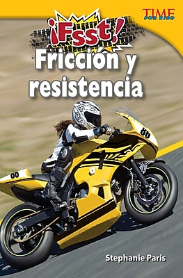 Fsst! Friccion y resistencia (Drag! Friction and Resistance)