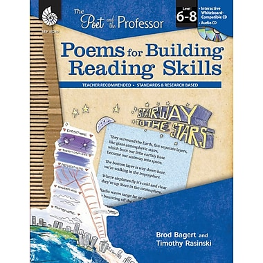 The Poet and the Professor: Poems for Building Reading Skills: Levels 6-8