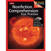 Nonfiction Comprehension Test Practice: Level 3