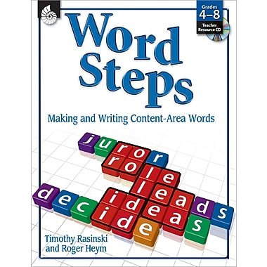 Word Steps: Making and Writing Content-Area Words