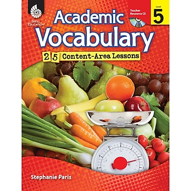 Academic Vocabulary: 25 Content-Area Lessons Level 5