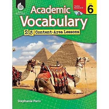 Academic Vocabulary: 25 Content-Area Lessons Level 6