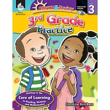 Bright & Brainy: 3rd Grade Practice