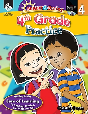 Bright & Brainy: 4th Grade Practice