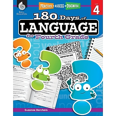 Practice, Assess, Diagnose: 180 Days of Language for Fourth Grade