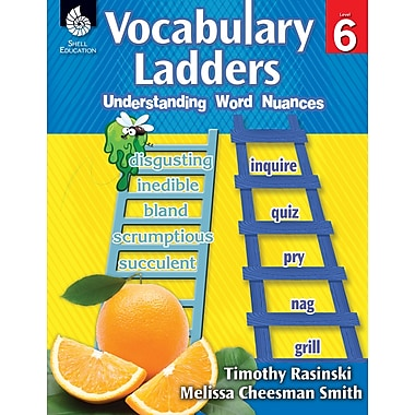 Vocabulary Ladders: Understanding Word Nuances Level 6