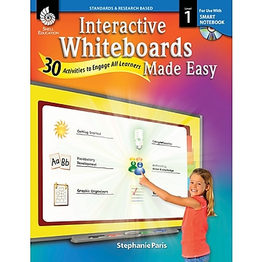 Interactive Whiteboards Made Easy: 30 Activities to Engage All Learners: Level 1 (SMART Notebook Software)
