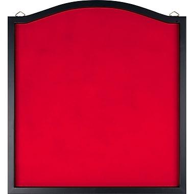 Trademark Dart Backboard With Solid Wood Frame & Red felt