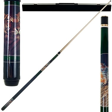 Trademark Bengal Tiger Billiard Pool Stick