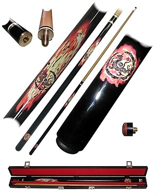 Trademark Dragon Inferno Billiard Pool Stick