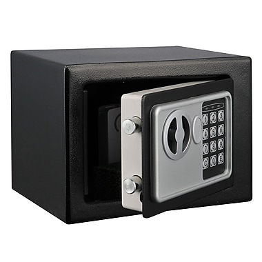 Stalwart™ Electronic Deluxe Digital Steel Safe, Grey or Black