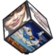 Trademark 122F Revolving Photo Cube