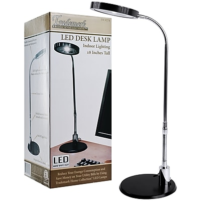 Trademark 4.8 W LED Desk Lamp, Chrome