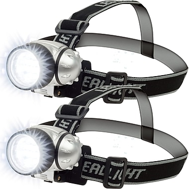 Trademark Stalwart™ 2x 12 LED Headlamp With Adjustable Strap