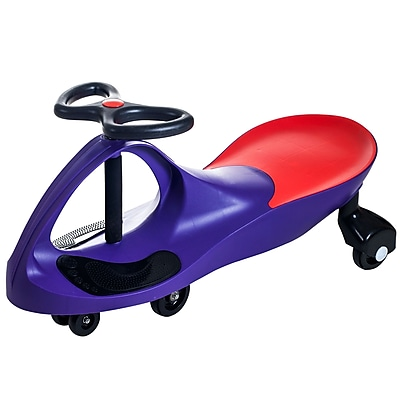 Trademark Lil' Rider Wiggle Ride-on Car, Purple